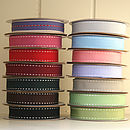 Stitched Grosgrain Ribbon 10 Metres