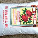 Medium Vintage Feedsack Cushions