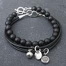 Mens Onyx Bracelet