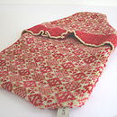 Cherry Red Hot Water Bottle Cover
