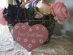 Home Sweet Home Heart - decorative accessories