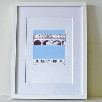 Pulteney Bridge Silk Screen Print
