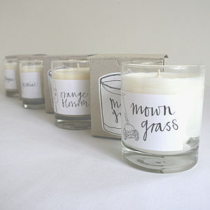 Thyme Scented Candle - room decorations