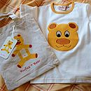 Teddy T-Shirt In A Cotton Bag