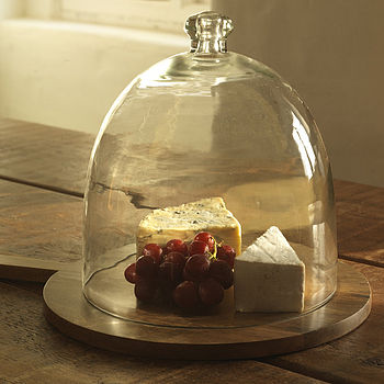 Fairtrade Recycled Glass Food Dome
