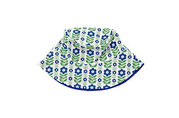 Retro Folk Flower Summer Hat