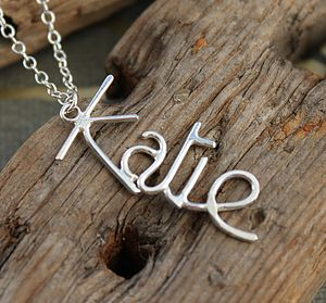 Personalised Name Pendant - Vertical - shop by price