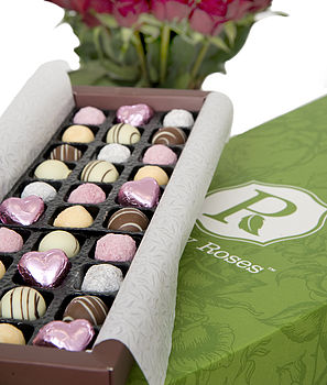 Roses And Champagne Chocolates