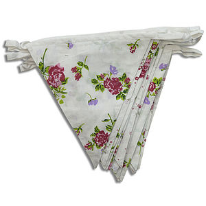 Floral Cottage Garden Bunting - children's parties