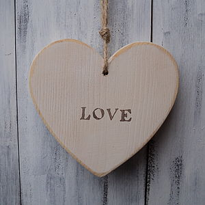 Vintage Style Love Heart - outdoor decorations