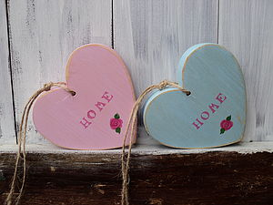 Vintage Style Home Heart