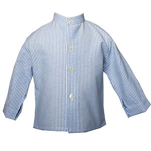 Striped Long Sleeve Shirt - clothing