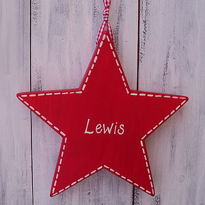 Personalised Star - children's room
