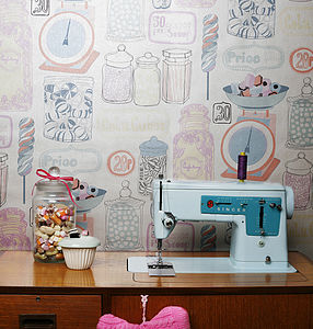 'Oh Sweetie' Wallpaper - children's room accessories