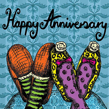 Happy Anniversary Card -3 For £5