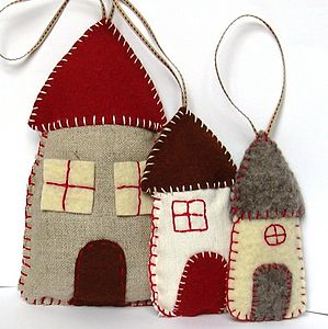 Lavender Houses Felt Craft Kit - bedroom