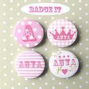 princess badge set