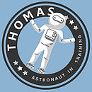 Personalised Astronauts T-Shirt Or Bodysuit