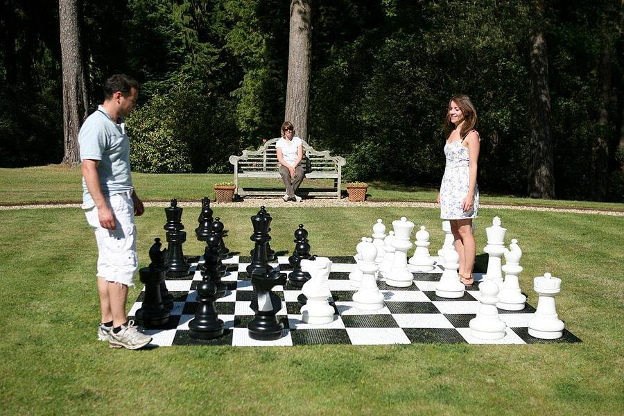 Giant Chess Pieces By Uber Games Notonthehighstreet Com