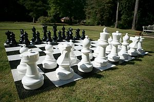 Giant Chess Pieces - outdoor toys & games