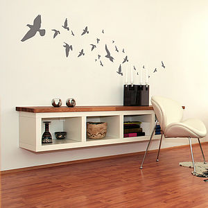 Flying Birds Wall Stickers - dining room