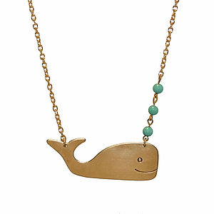 A Whale Of A Tale Necklace