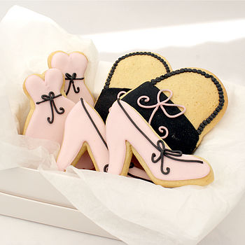 Six Fashionista Biscuits