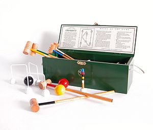 Carpet Croquet Set - outdoor toys & games