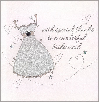 Wedding Party Bridesmaid