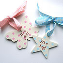 Personalised New Baby Decoration