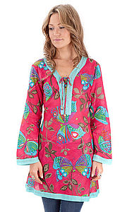 35% OFF Ibiza Butterfly Tunic - swim & beachwear