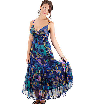 Monet Maxi Dress (navy)