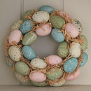 Mini Egg Wreath
