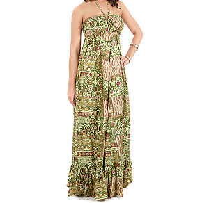50% OFF Ring Maxi Dress - dresses