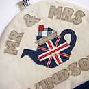 personalised jubilee tea cosy