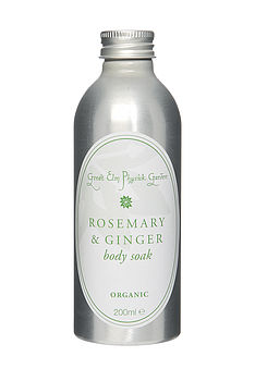 Rosemary And Ginger Organic Body Soak