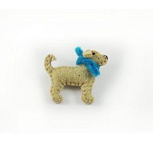 Plain Puppy Dog Brooch - pins & brooches