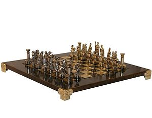 Greek Roman Chess Set - traditional toys & games