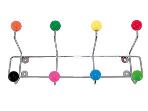 Atomic Coat Rack - bathroom