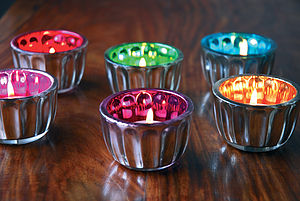 Cup Cake Candle Holders - lights & candles