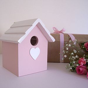 Hand Made Wall Mountable Birdhouse