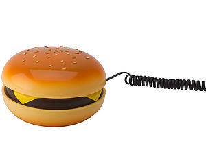 Hamburger Phone - stationery