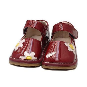 'Ruby' Infant Mary Jane 'Squeaky' Shoes