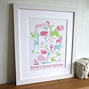 Children's Animal Art Print