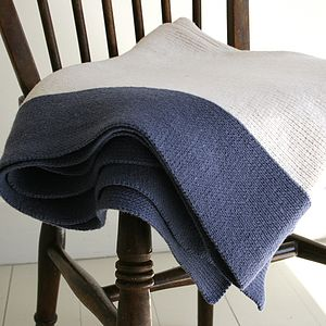 Washable Wool Baby Blanket