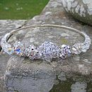 Genuine Vintage Piece Crystal Tiara