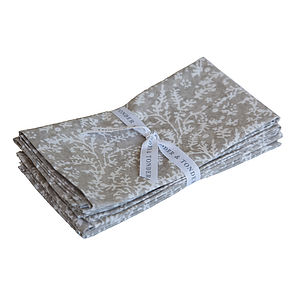 Cotton Lavender Napkins - bed, bath & table linen