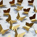 3D Butterfly Table Confetti
