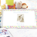 Personalised Christening Book