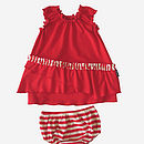 Molly Baby Frill Smock And Knickers